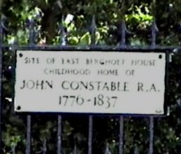 John Constable birthplace