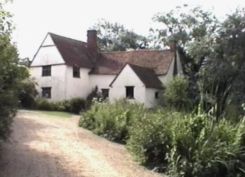 Willy Lott's cottage at Flatford