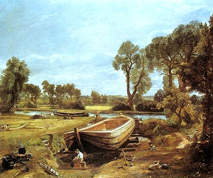 Constable's painting of Dedham Vale